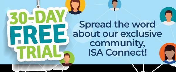 Acceso gratuíto a ISA Connect