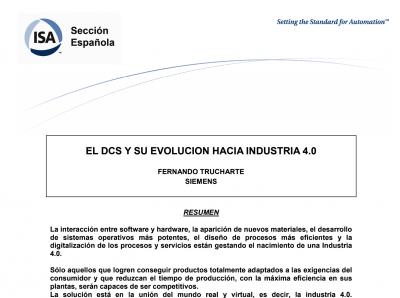 portada el DCS y su evolucion hacia la industria 40
